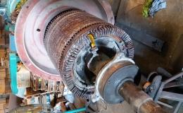 Sửa chữa roto dây quấn công suất 380 kW
